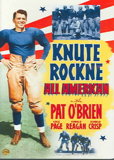 KNUTE ROCKNE ALL AMERICAN BY REAGAN,RONALD (DVD)