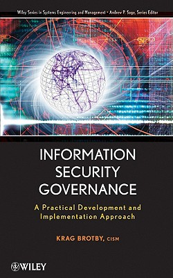 Information Security Governance By Brotby, Krag (EDT)